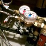 Как установить водомер?