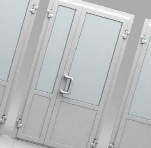 металлопластиковые межкомнатные двери