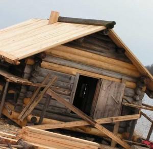 реставрация деревянных зданий