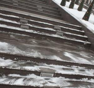 Снеготаяние в загородном доме