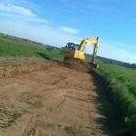 Строительство дороги в коттеджном поселке