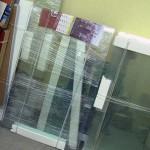Упаковка стекла для перевозки
