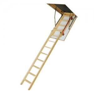 чердачная лестница с утепленным люком