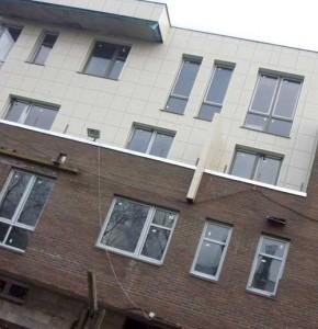 навесные фасады из керамогранита