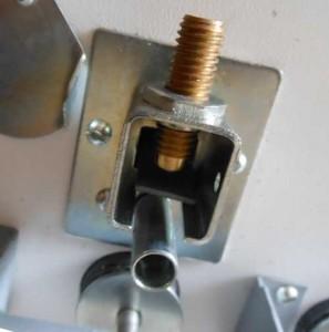 установка клапана на газопроводе