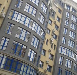 отделка фасада многоквартирного дома