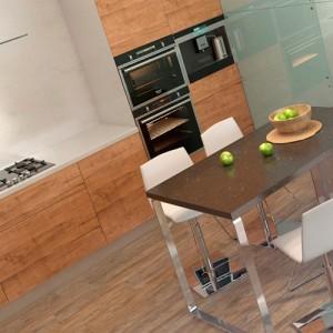 кухня разделенная на две зоны