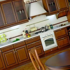 расположение мебели на кухне