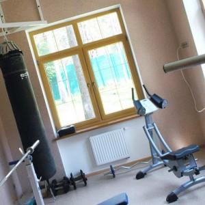 спортивный зал дома