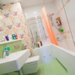 Как разделить функциональные зоны в ванной комнате?