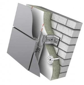 монтаж алюминиевых композитных панелей