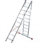 Чем хороша универсальная двухсекционная лестница?