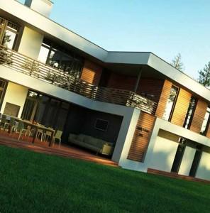 экстерьер современного дома