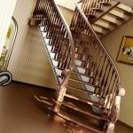 Когда лестница – гордость дома