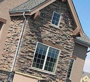 Применение природного камня в облицовке зданий