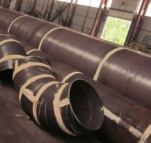 сварка стальных труб большого диаметра