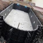 Создание бетонного бассейна своими руками