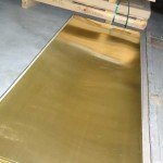 Производство латунного листа