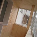 Современный ремонт балкона