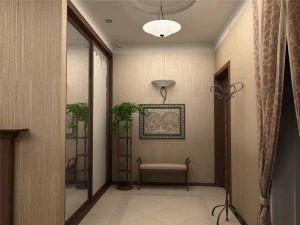 Использование обоев в интерьере коридора
