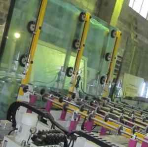 Как производится стекло
