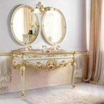 Дорогая мебель для ванной комнаты в VIVON.RU