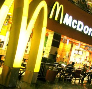 Акции McDonald's