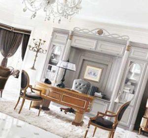 дизайн кабинета в стиле прованс