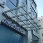 Качественные стеклянные козырьки и патио-навесы от компании ЮБК